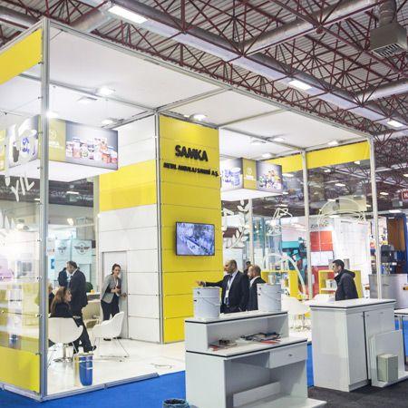 Samka fuar stand